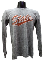 OSU State Long-sleeved Track Tee
