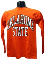 OSU Full Arch Orange Long-sleeved Tee