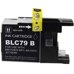 Brother LC79BK Black Ink Cartridge, Super High Yield