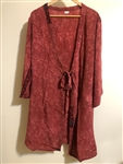 Home Sadhana Robe ~ Red
