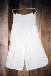 Thai Cotton Gaucho Pants