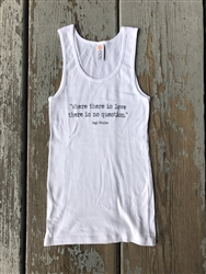 """Where There Is Love"" Yogi Tank"