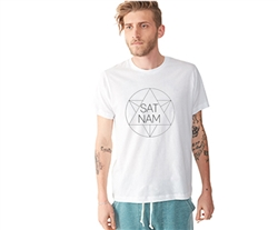 Sacred Geometry Sat Nam Men's Tee