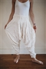 Silky Cotton Harem Pants