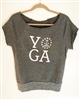 RI Yoga Short Sleeve Sweatshirt