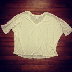 Flowy V-Neck Tee (XL)