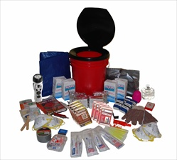 4 Person Ultimate Survival Bucket Kit