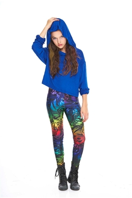Terez - Girls Rainbow Tiger Leggings
