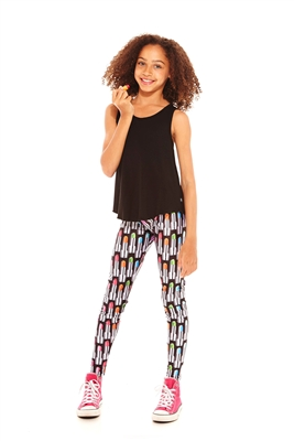 Terez Girls ZT Lipstick Leggings