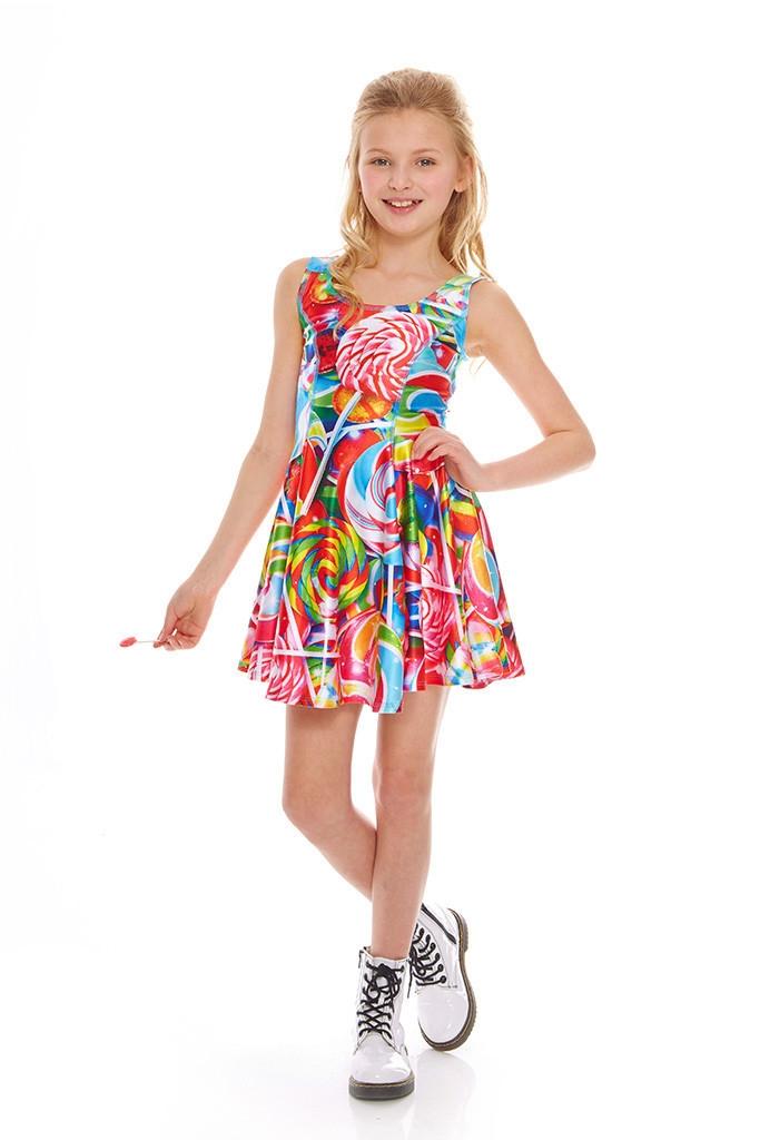 Terez Girls Lollipops Skater Dress