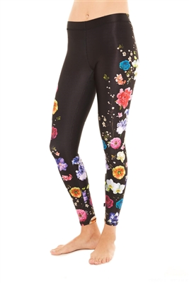 Terez - Womens Fresh Florals Leggings