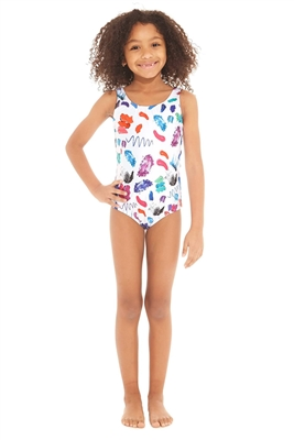 Terez Kids Make Up Mess Sport One Piece