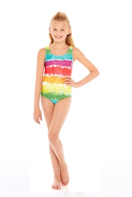 Terez Girls Rainbow Cake Speedo