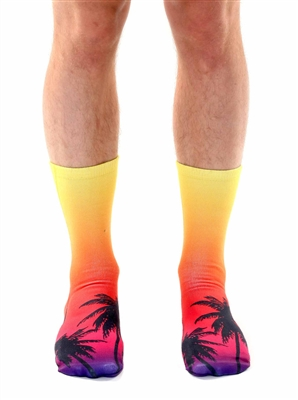 Living Royal Sunset Crew Socks