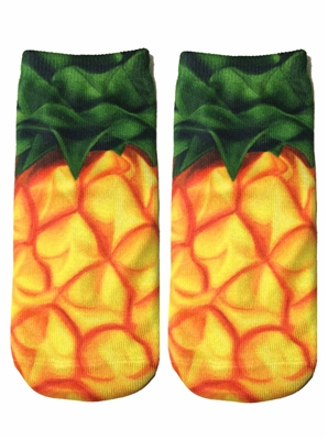 Living Royal Pineapple Ankle Socks
