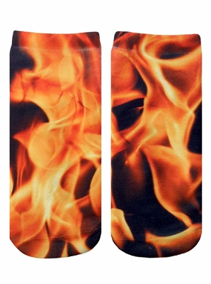Living Royal Flame Ankle Socks