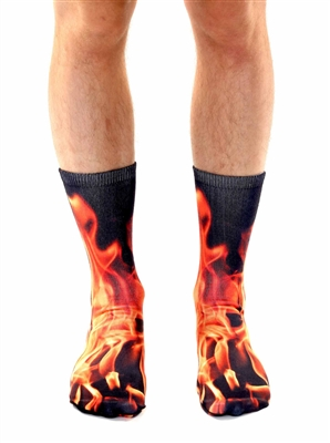 Living Royal Flame Crew Socks