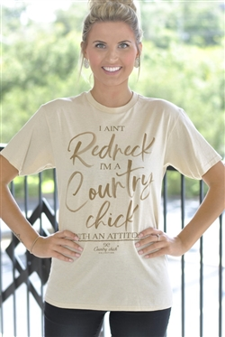 "Simply Southern ""Country Chick"" Tee"