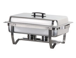 ChefsFirst offers equipment & supplies for restaurants, commercial kitchens, foodservice & manufacturing facilities. Check out our low price for this Chafer, Full Size Complete With Folding Frame, CHAFER by California Cooking.