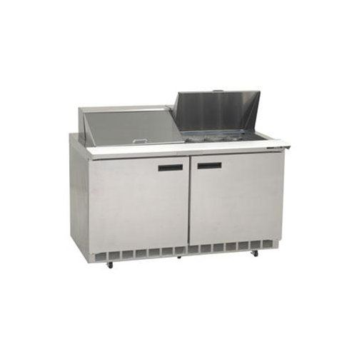 Delfield Refrigerator Mega Top Sandwich Prep Table 60