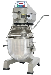 ChefsFirst offers equipment & supplies for restaurants, commercial kitchens, foodservice & manufacturing facilities. Check out our low price for this Mixer, Dough 20 qt - With Power Hub, SP20 by Globe .