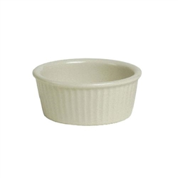 ChefsFirst offers equipment & supplies for restaurants, commercial kitchens, foodservice & manufacturing facilities. Check out our low price for this Ramekin, 6oz Fluted Sides Plain Porcelain, Eggshell, BEX-0602 by Tuxton.