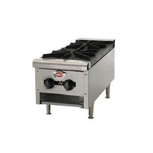 "ChefsFirst offers equipment & supplies for restaurants, commercial kitchens, foodservice & manufacturing facilities. Check out our low price for this Hotplate, 12"" Wide 2 Burner - Gas, HDHP-1230G by Wells."