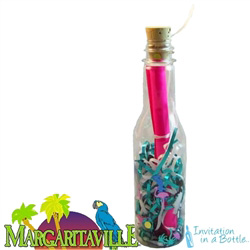 Margaritaville Message In A Bottle Invitation