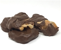 Chocolate Cashew Caramel Clusters - 8 Pack