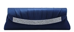 Navy Blue Wedding Cocktail Clutch Purse