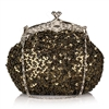 Sage Green Formal Sequin Casual Clutch Bag
