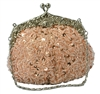 Pink Champagne Formal Sequin Casual Clutch Bag