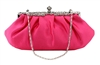 Fuchsia Pink Wedding Evening Clutch Purse