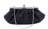 Navy Blue Wedding Evening Clutch Purse