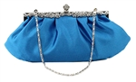 Sky Blue Wedding Evening Clutch Purse