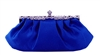 Royal Blue Wedding Evening Clutch Purse
