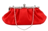 Red Bridal Wedding Evening Clutch Purse