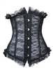 Lacey Corset Lace Up Bustier