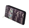 Chicastic Zip Around Credit Card Cash Print Wallet