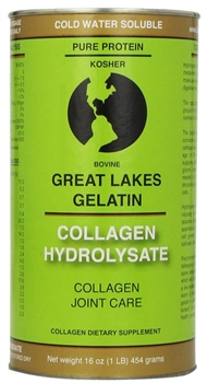 Great Lakes Gelatin - Collagen Hydrolysate (1 lb can)