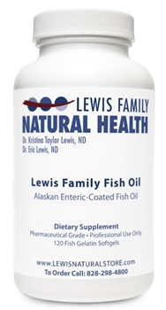 Lewis Family Fish Oil (120 softgels)