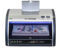 AccuBanker LED430 - Counterfeit Cash & Card Detector