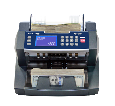 AccuBanker AB4200 - Bank Grade Bill Counter