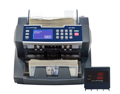 AccuBanker AB5800 - Value Extension Bill Counter
