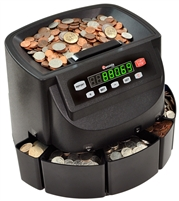Cassida C200 - Business-Grade Electronic Coin Sorter, Counter and Roller