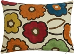 spring pia flower decorative throw pillow cover