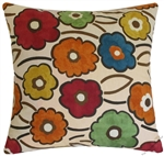 spring pia blossoms decorative throw pillow cover