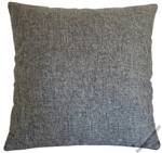 gray cosmo linen decorative throw pillow cover