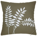 moss green wheat decorative throw pillow cover