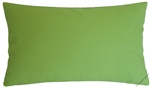 avocado green solid decorative throw pillow cover